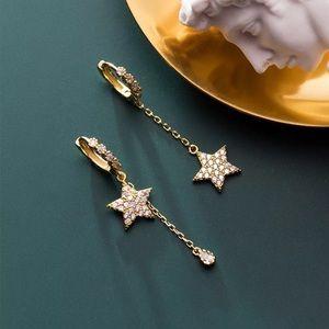 Star Asymmetrical Earrings